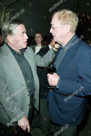 Martin Bregman and Sir Michael Caine