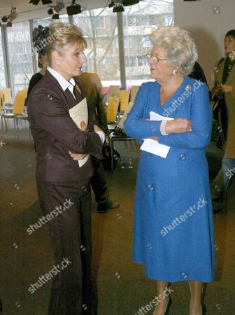Angela Rippon AND BARONESS Dame Betty Boothroyd