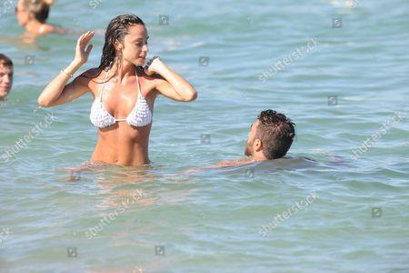 Gianluca Tozzi and fiancee Raffaella Fico