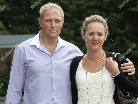 Editorial image of Sgt Danny Nightingale Arrives At The Bulford Court Martial In Wiltshire With His Wife Sally. The Former Sas Sniper Has Been Given A Two-year Suspended Sentence For Illegally Possessing A Glock 9mm Pistol And 300 Rounds Of Ammunition. Picture: Murray