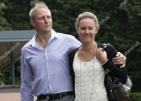 Sgt Danny Nightingale Arrives At The Bulford Court Martial In Wiltshire With His Wife Sally The Former Sas Sniper Has Been Given A Two-year Suspended Sentence For Illegally Possessing A Glock 9mm Pistol And 300 Rounds Of Ammunition