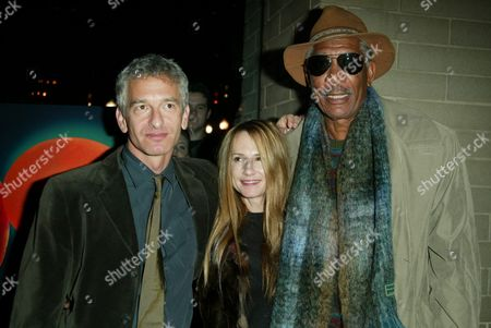 Ed Solomon, Holly Hunter and Morgan Freeman