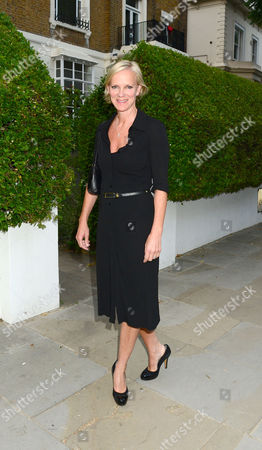 Hermione Norris. Guests From The World Of Itv Arrive At 6 Chepstow Villas London W11 For The Itv Summer Reception Held By Peter Fincham Director Of Television. 17july 2013 Spooks Actress.