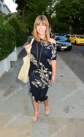 Kate Garroway. Guests From The World Of Itv Arrive At 6 Chepstow Villas London W11 For The Itv Summer Reception Held By Peter Fincham Director Of Television. 17july 2013.
