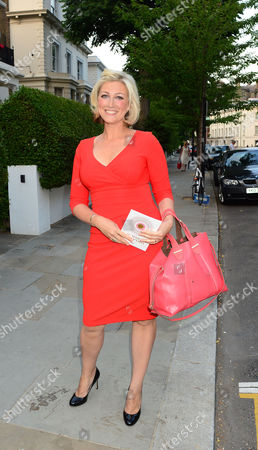 Guests From The World Of Itv Arrive At 6 Chepstow Villas London W11 For The Itv Summer Reception Held By Peter Fincham Director Of Television. 17july 2013.