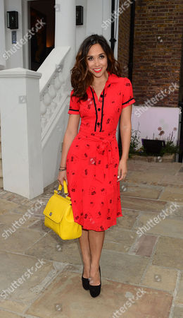 Myleene Klass. Guests From The World Of Itv Arrive At 6 Chepstow Villas London W11. Itv S. Ummer Reception Held By Peter Fincham Director Of Television. 17 July 2013.