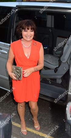 Lorraine Kelly. Guests From The World Of Itv Arrive At 6 Chepstow Villas London W11. Itv Summer Reception Held By Peter Fincham Director Of Television. 17 July 2013.