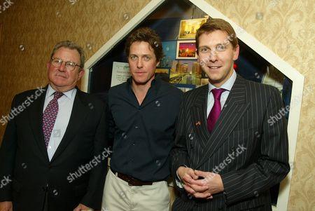 Gary Dartnall, Hugh Grant and Simon Sproule