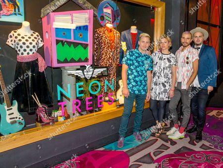 Neon Trees Neon Trees - Chris Allen, Elaine Bradley, Branden Campbell and Tyler Glenn