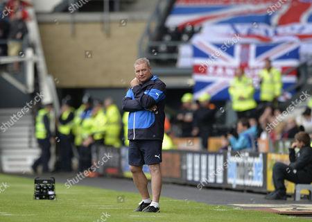 Ally McCoist manager of Rangers