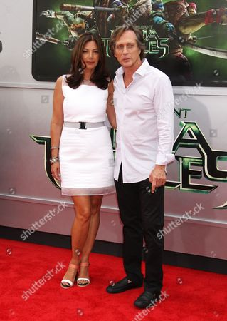 William Fichtner and wife Kymberly Kalil