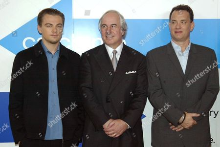 Leonardo Dicaprio, Frank Abagnale and Tom Hanks