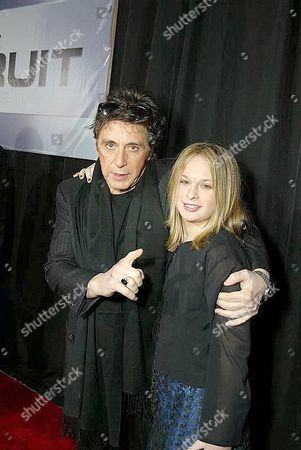 Al Pacino and Julie Pacino
