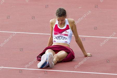 Isobel Pooley won silver in the Women's High Jump Finals on Day 9 of the 2014 Commonwealth Games