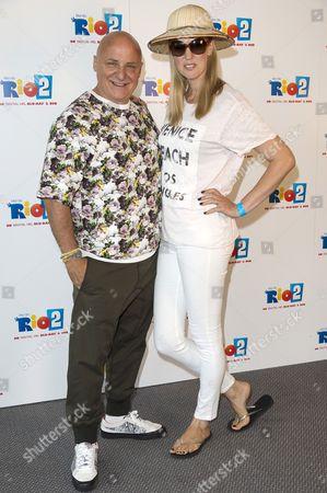 Aldo Zilli and wife Nikki Welch
