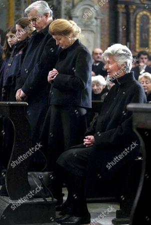 SERGE DE PALHEN WITH MARGHERITA AND MARELLA AGNELLI
