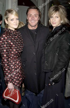 WILL RICKER, OWNER OF E AND O WITH ELOISE ANSON (L) AND NICOLA FORMBY