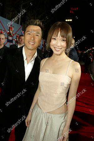 Donnie Yen and Fann Wong
