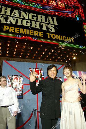 Jackie Chan & Fann Wong