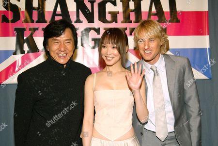 Jackie Chan, Fann Wong and Owen Wilson