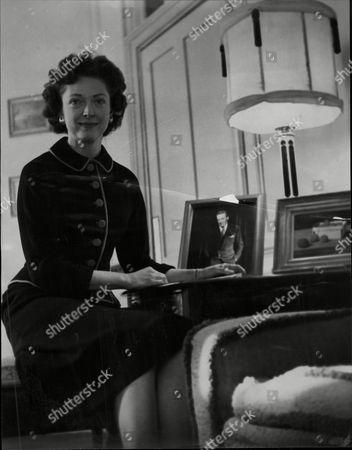 Mrs Jack Buchanan (nee: Susan Bassett) Wife Of The Actor.