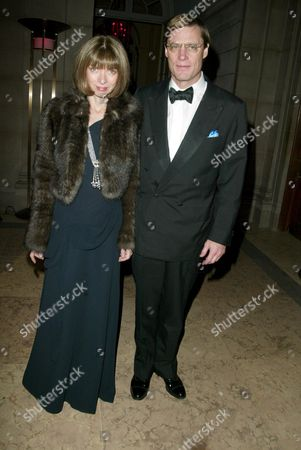 Anna Wintour and J Shelby Bryan