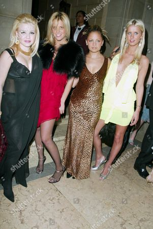 Casey Johnson, Ali Wise, Nicole Richie and Nicky Hilton