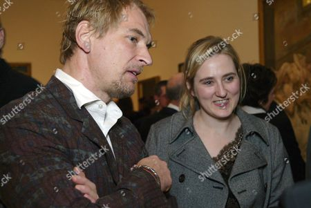 Julian Sands and granddaughter of Lucian Freud, Susie Boyt