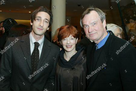 Adrien Brody, Frances Fisher & Ken Scherer