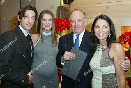 Adrien Brody, Brooke Shields, Nicola Bulgari & Beatrice Bulgari
