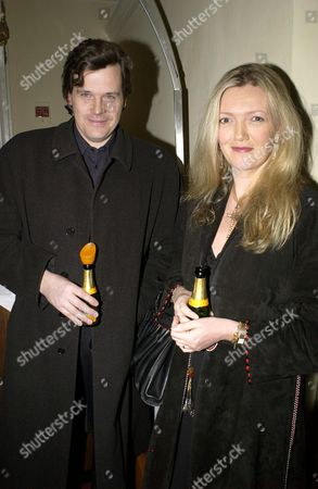 Stock Photo of ANNABEL HESELTINE AND HUSBAND PETER BUTLER
