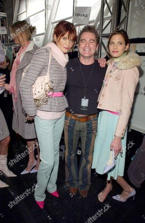 HELENA CHRISTENSEN, CHARLES WORTHINGTON AND FRANKIE RAYDER