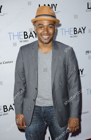 Editorial image of 'The Bay' web series premiere, Los Angeles, America - 04 Aug 2014