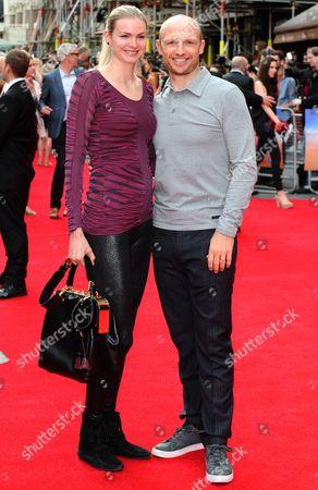 Carolin Hauskeller and Matt Dawson