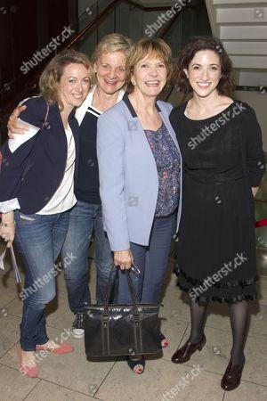 Clare Lawrence, Olga Edridge, Joan Bakewell and Laura Moody