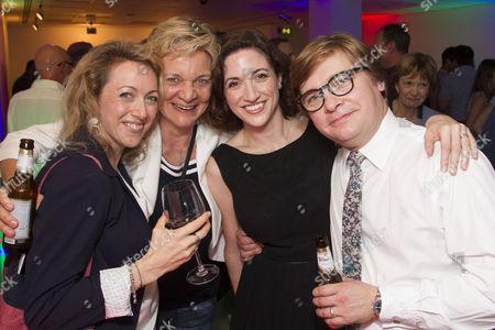 Stock Image of Clare Lawrence, Olga Edridge, Laura Moody and Jonathan Broadbent
