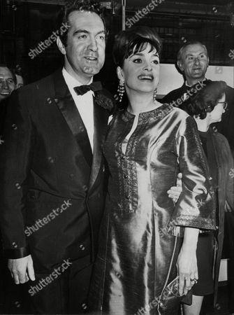 Actress Barbara Jefford With Her Husband John Turner.