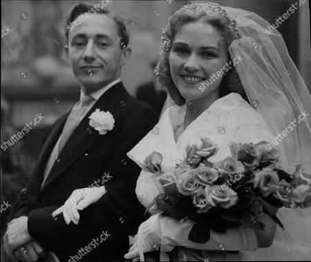 Wedding Of Miss Sheila Shand Gibbs To Mr Timothy Bateson Son Of Mr Dingwall Bateson President Of The Law Society.