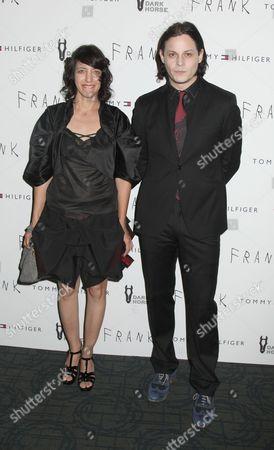 Carla Azar and Jack White
