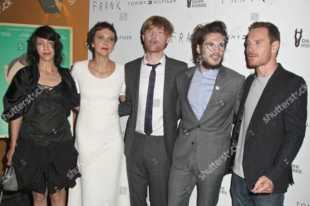 Stock Picture of Carla Azar, Maggie Gyllenhaal, Domhnall Gleeson, Francois Civil, Michael Fassbender