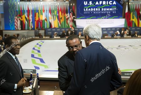 Editorial picture of US-Africa Leaders Summit, Washington DC, America - 06 Aug 2014