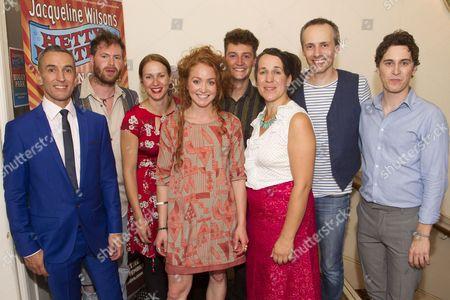 Matt Costain, Luke Potter, Nikki Warwick, Phoebe Thomas, Alex Heane, Sarah Goddard, Paul Mundell and Isaac Stanmore