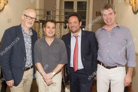 Robert O'Dowd, Kenny Wax, William Archer and Jerry Gunn