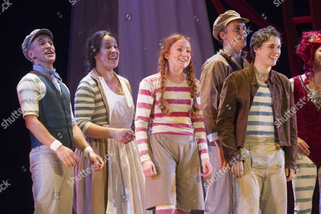 Editorial picture of 'Hetty Feather' play press night, London, Britain - 06 Aug 2014