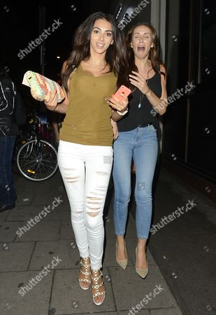 Editorial picture of Georgia Salpa out and about, London, Britain - 06 Aug 2014