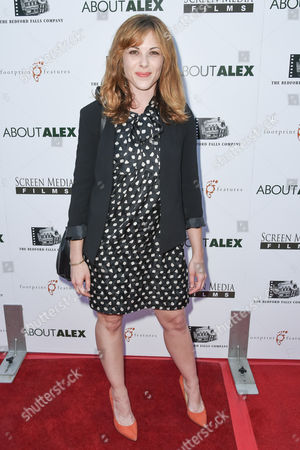 Editorial photo of 'About Alex' film premiere, Los Angeles, America - 06 Aug 2014