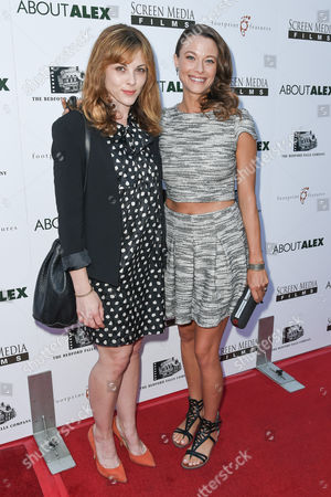 Editorial image of 'About Alex' film premiere, Los Angeles, America - 06 Aug 2014