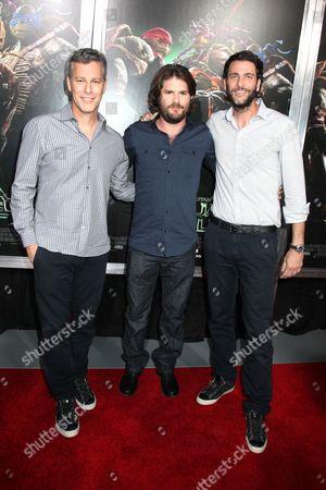 Brad Fuller, Jonathan Liebesman and Andrew Form