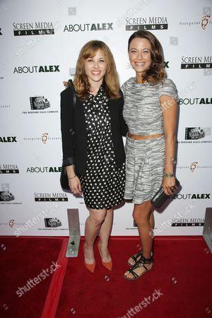 Julie Mond and Scottie Thompson