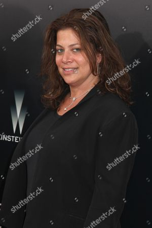 Stock Image of Meryl Poster, President of television prod., The Weinstein Co.